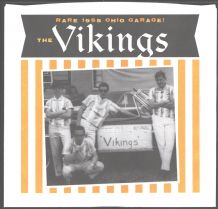 The Vikings - I Need Your Lovin' c/w Such A love (Orange Vinyl)